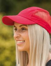 Sport Cap with Side Mesh